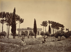 The Amir's garden, Jellalabad, from entrance.